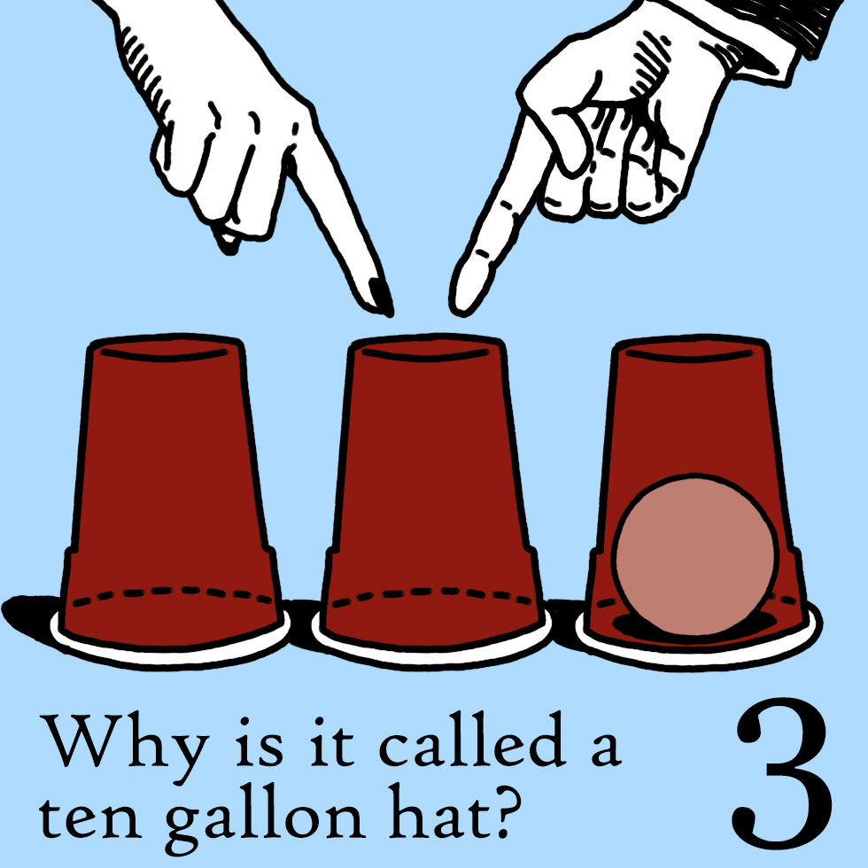 Why Is It Called A Ten Gallon Hat?