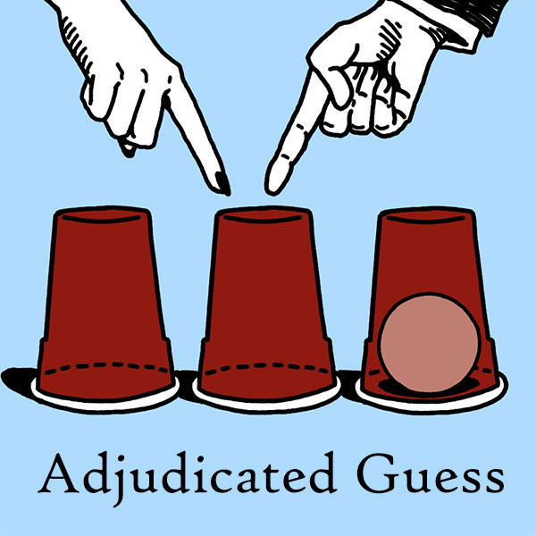 Adjudicated Guess Logo