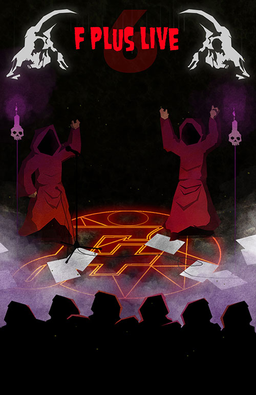 F Plus Live 6 Show Poster