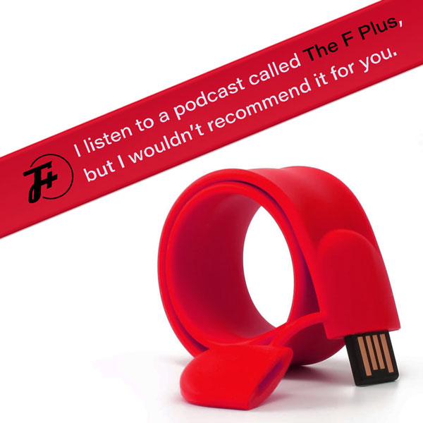 USB Slap Bracelets (with The Music of Garbage Day)