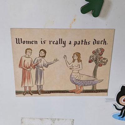 A Paths Duck