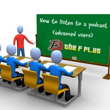 How To Listen To A Podcast (Advanced Users)