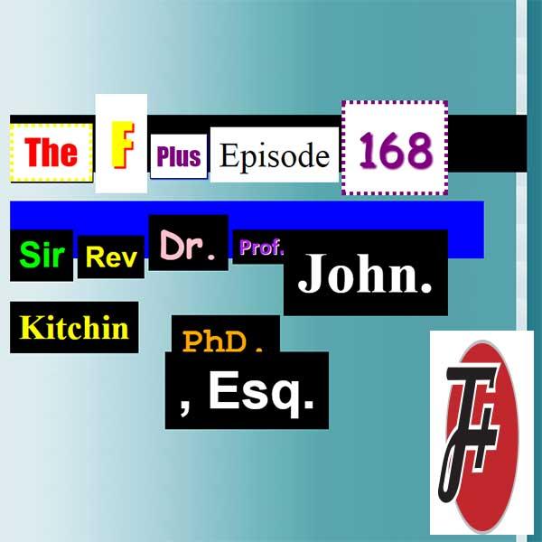 Sir Rev. Dr. Prof. John Kitchin Ph.D, Esq.