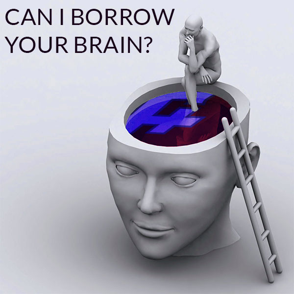 Can I Borrow Your Brain?