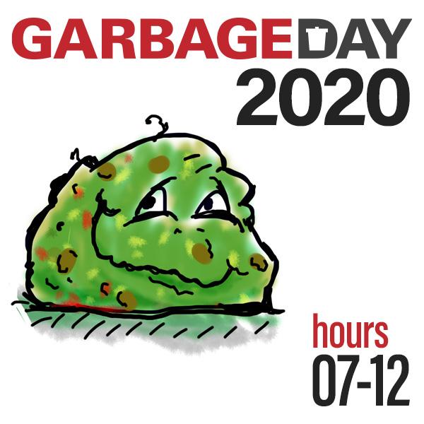 F Plus Episode garbage-day-2020-2