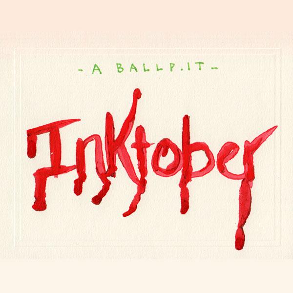 A Ballpit Inktober