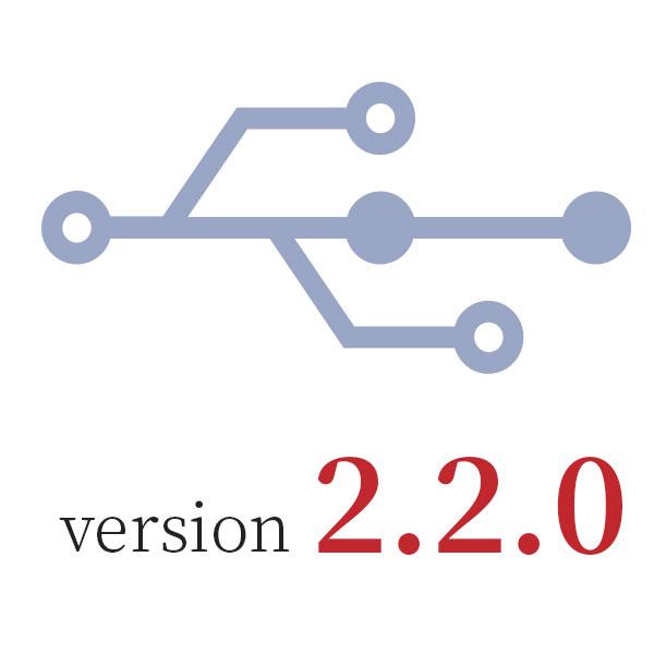 Redesign: Version 2.2.0