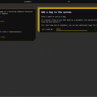 SysAdmin Screenshot