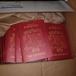 shipment of passports