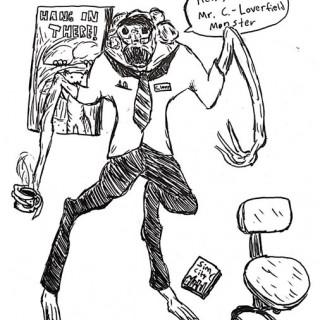 Mr. C. Loverfield Monster ~ art by eldritchhat