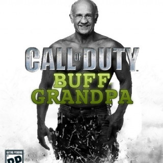 Call of Duty: Buff Grandpa ~ art by For The Love