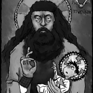Hagrid Orthodox Icon ~ art by Spooks