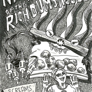 Night of the Rich Dumbasses ~ art by Sanguinary Novel