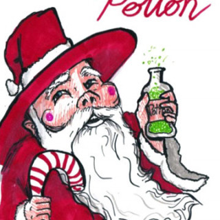Enjoy a refreshing potion ~ art by Adam Bozarth
