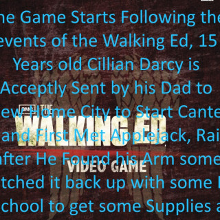 The Walking Ed Video Game ~ art by DJW