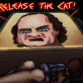 Release the cat! ~ art by Sauce