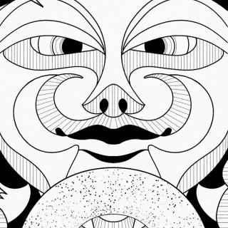 donut djinn ~ art by Moxie Ramsey
