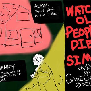 Watch Old People Die Simulator ~ art by Amelia Blank