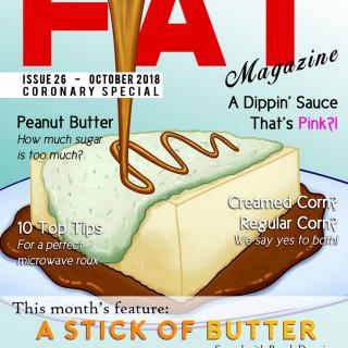FAT Magazine ~ art by Sauce