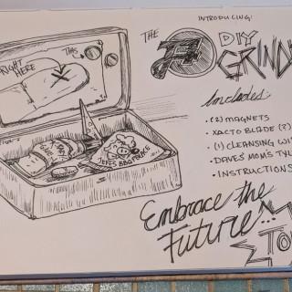 DIY Grinder Kit ~ art by Sanguinary Novel