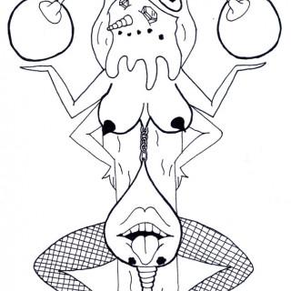 Goddess of Sexiness ~ art by dijon du jour