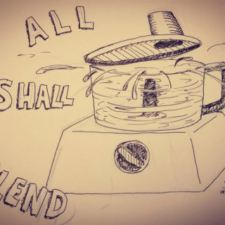 ALL SHALL BLEND ~ art by Sauce