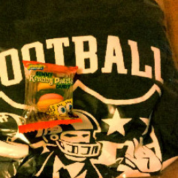 football congress jersey and candy