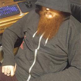 hoodie in chair