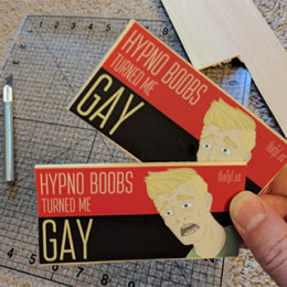 My bookmarks turned me gay